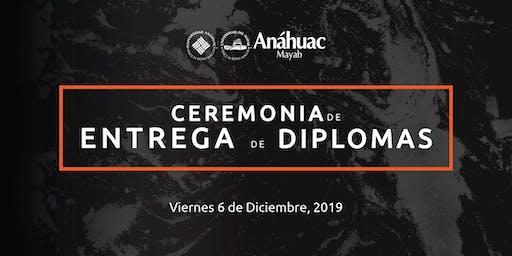Ceremonia de Entrega de Diplomas Educación Continua Anáhuac Mayab