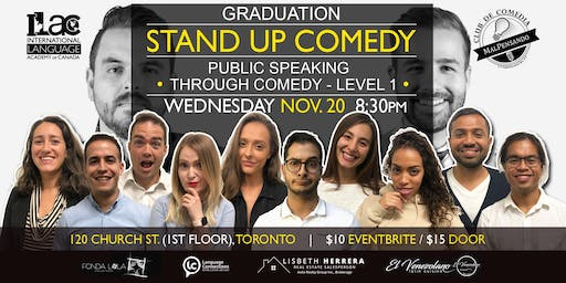 Grad Show: Public Speaking Through Comedy Workshop - Level 1