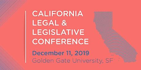 California Legal & Legislative Conference tickets