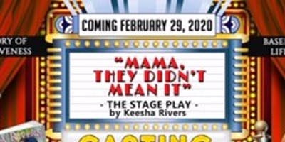 """"""" ****, They Didnt Mean It"""" Stage Play"""