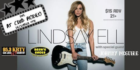 95.3 KRTY and BECKS SHOES PRESENT LINDSAY ELL with Guest Johnny McGuire tickets