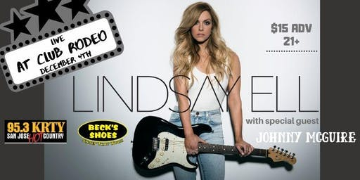 95.3 KRTY and BECKS SHOES PRESENT LINDSAY ELL with Guest Johnny McGuire
