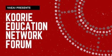 Koorie Education - Network Forum tickets