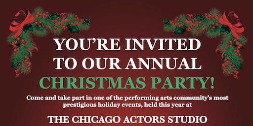 Chicago Actors Studio Christmas Party