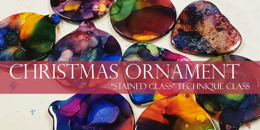 Stained Glass Ornament Class