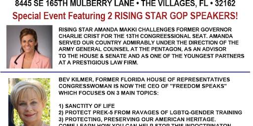 Trump Team 2020 FL - Sumter County -Amanda Makki & Bev Kilmer