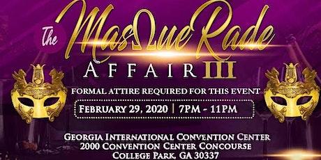 The MasQueRade Affair 3 tickets