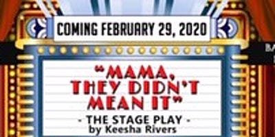 """****, They Didn't Mean It"" Stage Play!"