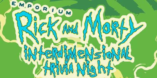 Rick and Morty Trivia night at Emporium Oakland