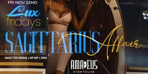 LUX FRIDAYS AT AMADEUS NIGHTCLUB
