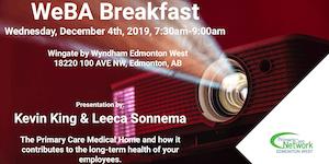 WeBA Presents - Breakfast with Kevin King & Leeca...