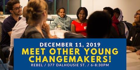 December: Meet Other Young Changemakers! tickets