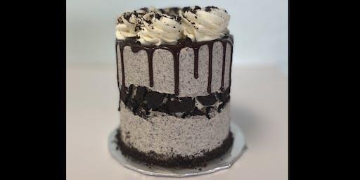 Cookies & Cream Fault Line Cake