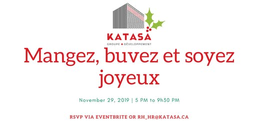 KATASA HQ Christmas supper / Souper de Noël de KATASA (Siège social)