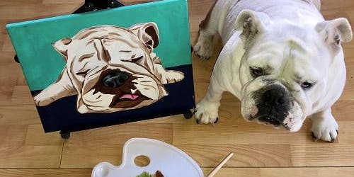 Painting and Vino's 'Pet Portraits'