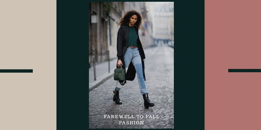 """The Red Keep Presents """"Farewell To Fall Fashion"""""""
