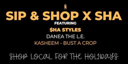 Sip & Shop X Sha