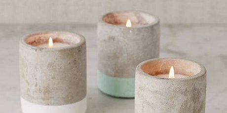 Valentine's Candle Making & Aroma Therapy Bath Salt tickets