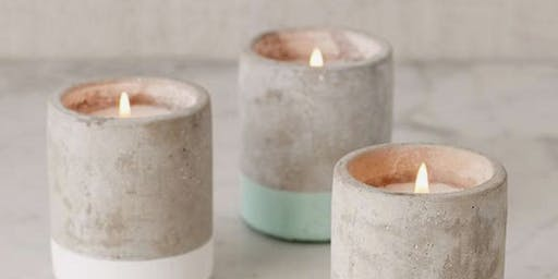 Valentine's Candle Making & Aroma Therapy Bath Salt