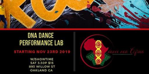 DNA Dance Performance Lab