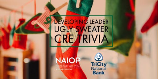 Developing Leaders Ugly Holiday Sweater CRE Trivia