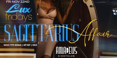The Sagittarius affair Party @ Amadeus nightclub