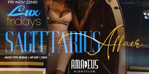 The Sagittarius affair Party @ Amadeus nightclub