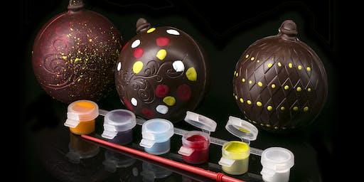 Chocolate Ornament Decorating - Holidays 2019