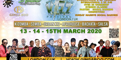 Ginga Boo Kizz Festival UK 13-15th March tickets