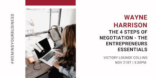The 4 Steps Of Negotiation - The Entrepreneurs Essentials