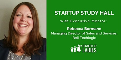 Startup Study Hall with Rebecca Bormann tickets