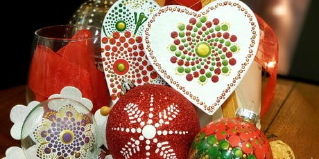 Holiday Ornaments Painting Party at Brush & Cork tickets