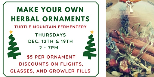 Herbal Ornament Making Party