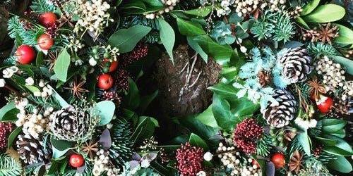 Floral Design Workshop - Christmas Wreath 12/07/19
