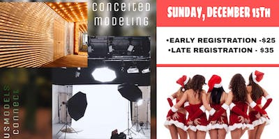CONCEITED MODELING & US MODEL CONNECT CHRISTMAS SHOOT