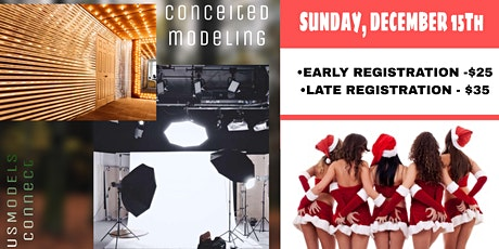 CONCEITED MODELING & US MODEL CONNECT CHRISTMAS SHOOT tickets