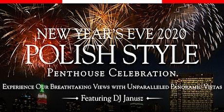 Terrace On The Park's 2020 Polish New Year's Eve Penthouse Celebration tickets