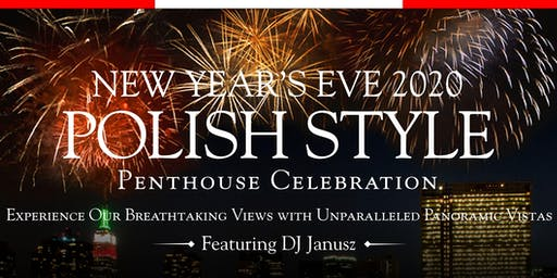 Terrace On The Park's 2020 Polish New Year's Eve Penthouse Celebration