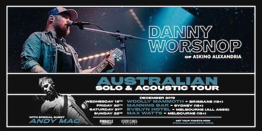 Danny Worsnop VIP UPGRADE - Melbourne (22/12 18+)