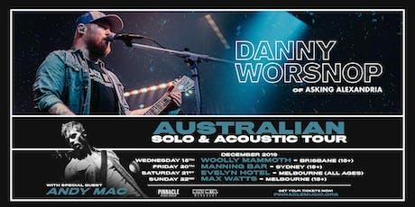 Danny Worsnop VIP UPGRADE - Brisbane tickets