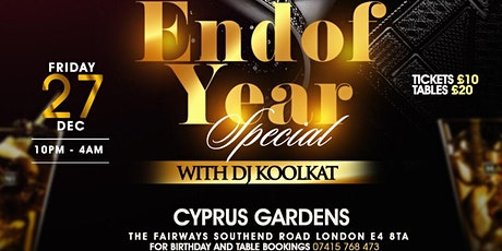 DJKOOLKAT END OF YEAR PARTY tickets