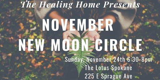 November New Moon Circle