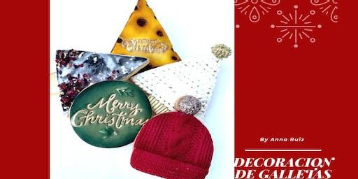 Galletas Decoradas de Navidad con Anna Ruiz en Anna Ruíz Store