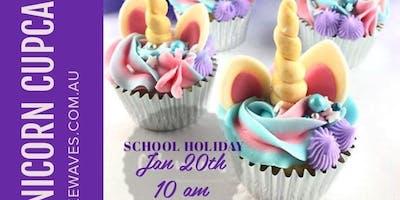 Unicorn Cupcake Cake Class School Holiday Programme