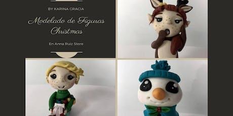 "Modelado de Figuras ""Christmas""  la Chef Karina Gracia en Anna Ruíz Store entradas"