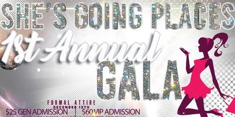She's Going Places Holiday Gala tickets