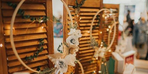 Modern Holiday Wreath Making Workshop