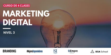 Curso De Marketing Digital Nivel 3 entradas