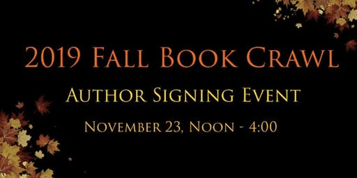 Local Author Book Signing Event—2019 Fall Book Crawl