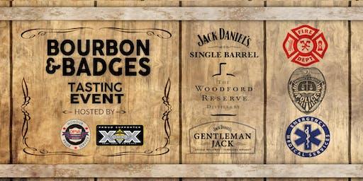 Bourbon & Badges Charity Tasting